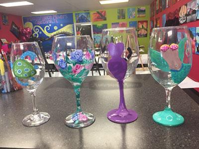 Paint Wine GLASSES!